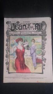Rivista Jeans Che Rit N° 316 1907 Giornale Illustre che Appaiono Il Venerdì ABE