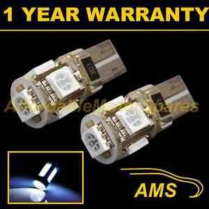2-X-W5w-T10-501-Canbus-sans-Erreur-Blanc-5-Feu-Lateral-LED-Ampoules-Clignotant