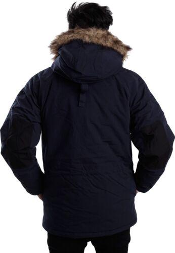 Parka Blu Rrp Trapper Jacket Mens cappuccio Bnwt Navy con In Coat Carhartt 245 £ TSaqq