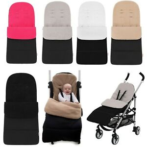 Universal-Pram-Footmuff-Cosytoes-Pushchair-Stroller-Buggy-Fits-All-Brands-100cm