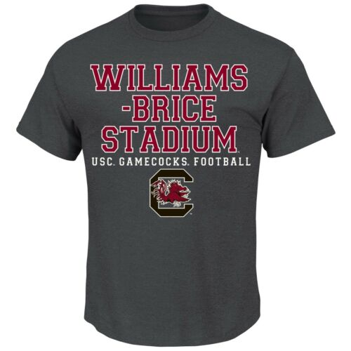 "South Carolina Gamecocks Majestic NCAA /""Big Game Best/"" Men/'s Charcoal T-Shirt"