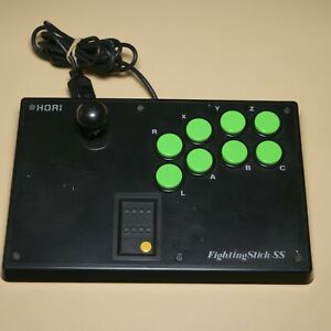Hori-Fighting-Stick-SS-Sega-Saturn-plastic-back-plate-HSS-07-Made-in-China
