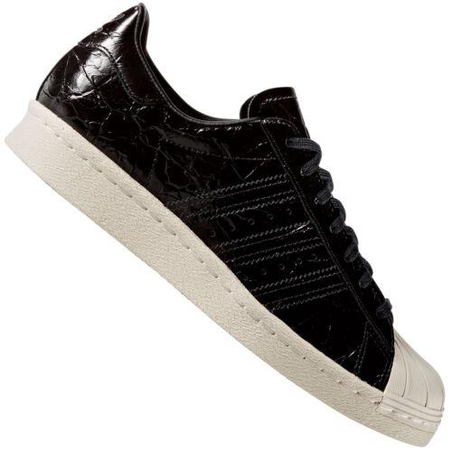 Cuir Noir Chaussures De Tennis Basket Adidas superstar Originals Damen Verni 60q4ZXwI