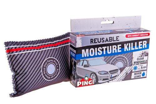 Vauxhall Corsa Reusable Car Dehumidifier Moisture Absorber Damp Control Microwav