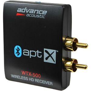 ADVANCE-ACOUSTIC-WTX-500-RICEVITORE-BLUETOOTH-APTX-NUOVO-GARANZIA