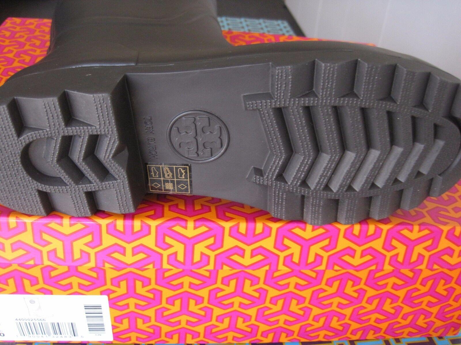 TORY BURCH MAUREEN RAIN BOOT NAVY  NEW BRAND NEW  IN THE BOX SIZE 10 52b8a5
