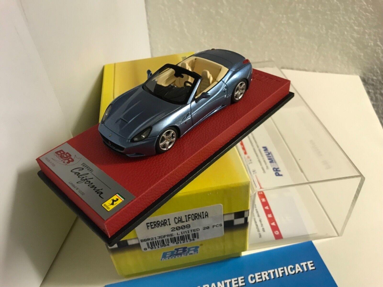 1:43 BBR - Ferrari California 2008