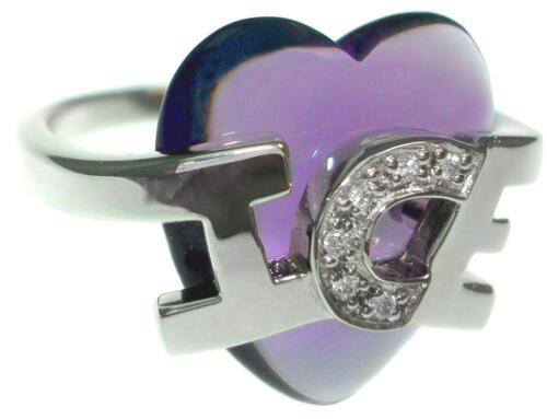 Iceberg corazón señora anillo 925er plata PVP 76, €