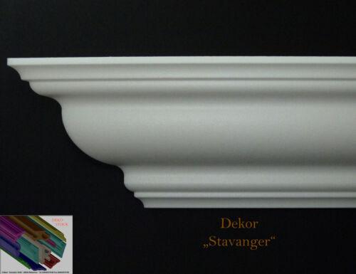 """24 M+4 Ecken 12,4cmx12,4cm Stuckleiste Stuckprofil Deckenprofil Dekor/""""Stavanger/"""""""