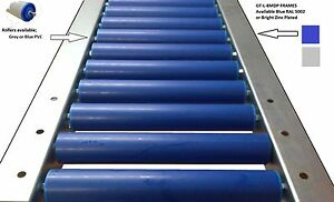 Details about GTA-PL50 (PVC rollers) medium duty gravity conveyor x2M UK  Made Product