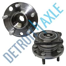 Pair: New REAR 2005-10 Volvo S40 V50 AWD Complete Wheel Hub and Bearing Assembly