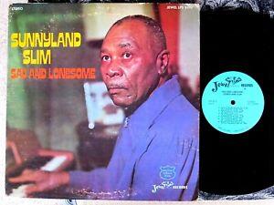 CHICAGO-BLUES-LP-SUNNYLAND-SLIM-with-Howlin-Wolf-s-band-amp-Walter-Horton-JEWEL