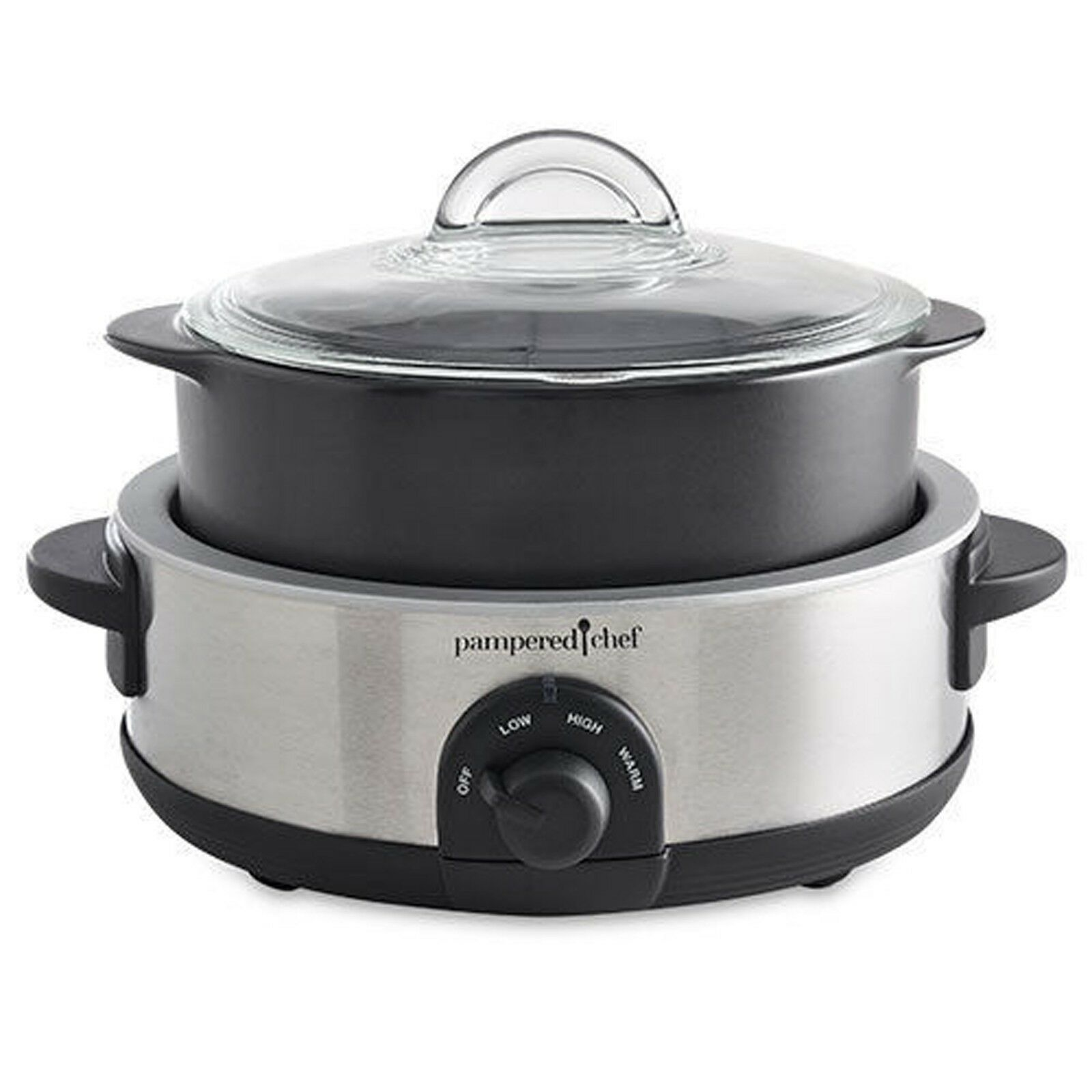 Pampered Chef 4quart Rockcrok Dutch Oven Ebay