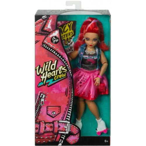 Wild Hearts Crew Jacy Masters Doll with Roller Skates /& Style Accessories NIB
