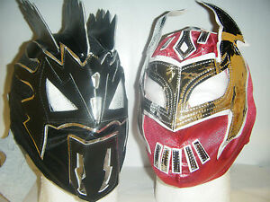 Image is loading SIN-CARA-&-KALISTO-CHILDREN-KIDS-WRESTLING-MASK- : sin cara costumes for kids  - Germanpascual.Com