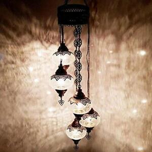 de original lámparas título Colgante techo Mosaico Vidrio ver Lámpara de De Luz marroquí araña Auténtico turco Detalles de VzMpqSU