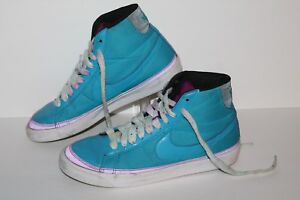 Nike Blazer Mid ND Casual Sneakers #375573-441 Orion Blue/Ppl Womens Size 9.5