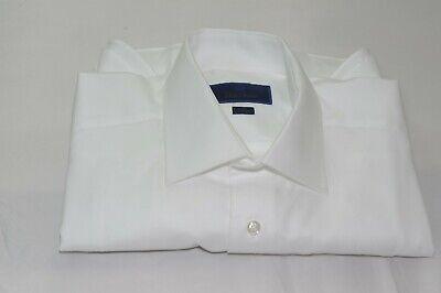 BNWT David Donahue Patterned Trim Fit Dress Shirt Size 16.5 32//33 MSRP $145!!