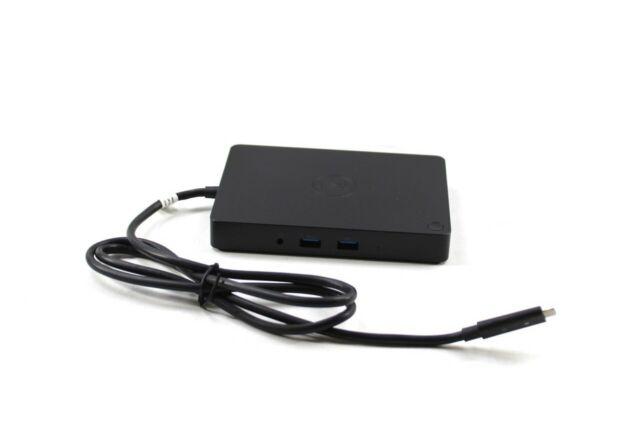 Dell WD15 5FDDV K17A USB-C Thunderbolt Triple 4K Monitor Dock - No Adapter
