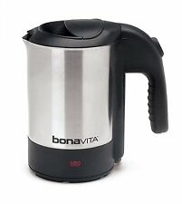 Bonavita BV3825B05 Stainless Steel 0.5 Liter Electric Travel Mini Tea Kettle New