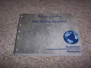 2001 Ford Expedition Electrical Wiring Diagram Manual XLT Eddie Bauer 4.6L  5.4L   eBayeBay
