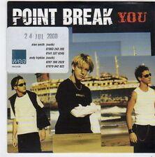 (FI675) Point Break, You - 2000 DJ CD