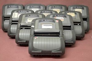 Zebra-QL420-PLUS-MOBILE-RUGGED-THERMAL-LABEL-WIRELESS-BARCODE-PRINTER-Lot-of-10