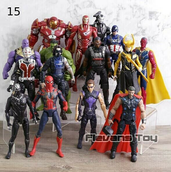 Avengers 3 Infiniti War Movie Super Heros Action Figures Set of 15 or 20