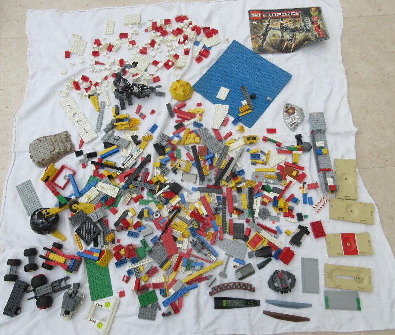 Lego inclure environ 2,8 kg pierres Roues Plaques City Pièces de rechange Pièces xx1