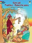 Great Native Americans Coloring Book by Peter F. Copeland (Paperback, 1997)