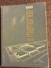 Memoriae 68 Yearbook-Dunnville District High School-Ontario