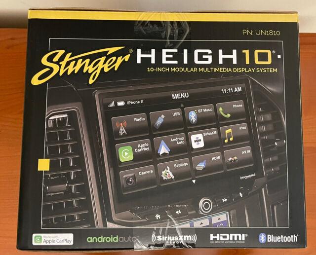 "NEW STINGER HEIGH10 UN1810 10"" Car Stereo Apple CarPlay Android Auto Radio"