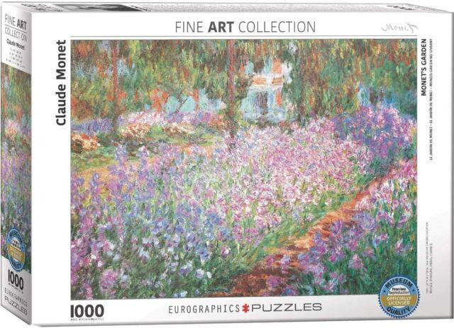 (Claude) Monet Giardino 1000 Pezzi Puzzle 680mm x 480mm (Panzer)