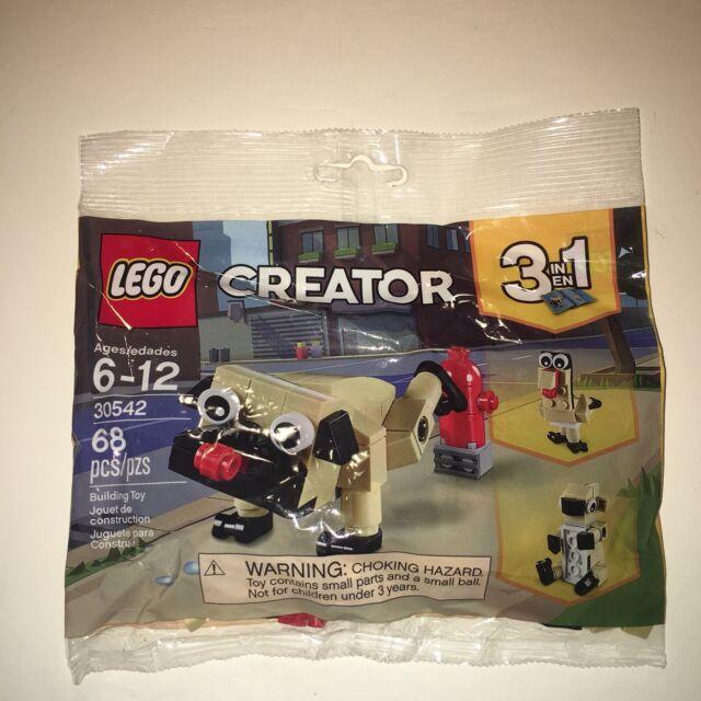 Lego Creator Cute Pug 30542 Polybag BNIP