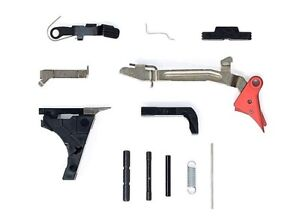 Details about For Glock Factory OEM 9mm Gen 3 LPK G-19 Polymer 80 and a  FLAT FACE TRIGGER