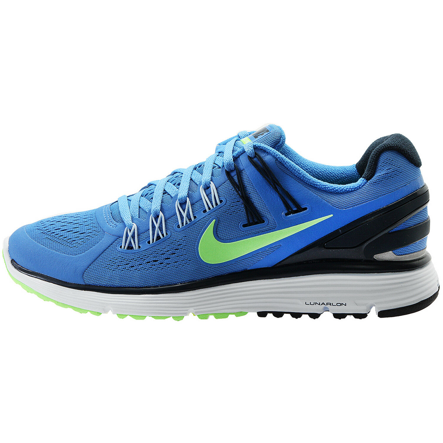 Nike Women's Lunareclipse+3 NEW NEW NEW AUTHENTIC bluee Green Navy Silver 555398-400 SZ 6 020ff0