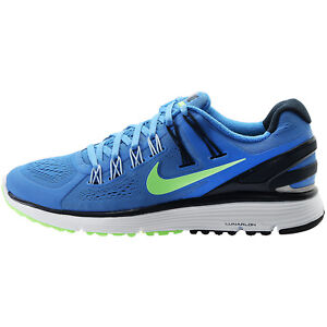 33224a63827bb Nike Women s Lunareclipse+3 NEW AUTHENTIC Blue Green Navy Silver ...
