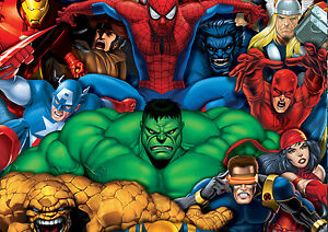 Marvel-Super-Hero-Characters-Giant-Poster-A0-A1-A2-A3-A4-Sizes