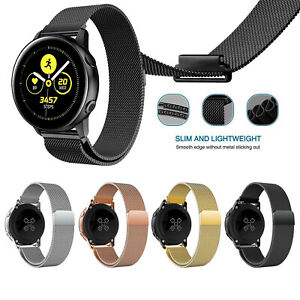 meilleures baskets 02403 7a0e2 Details about Stainless Steel Milanese Loop Bracelet Band For Samsung  Galaxy Watch Active 40mm