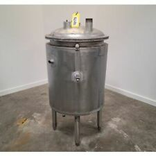 Used 75 Gallon Stainless Steel Wall Insulated Coil Heatcool Tank