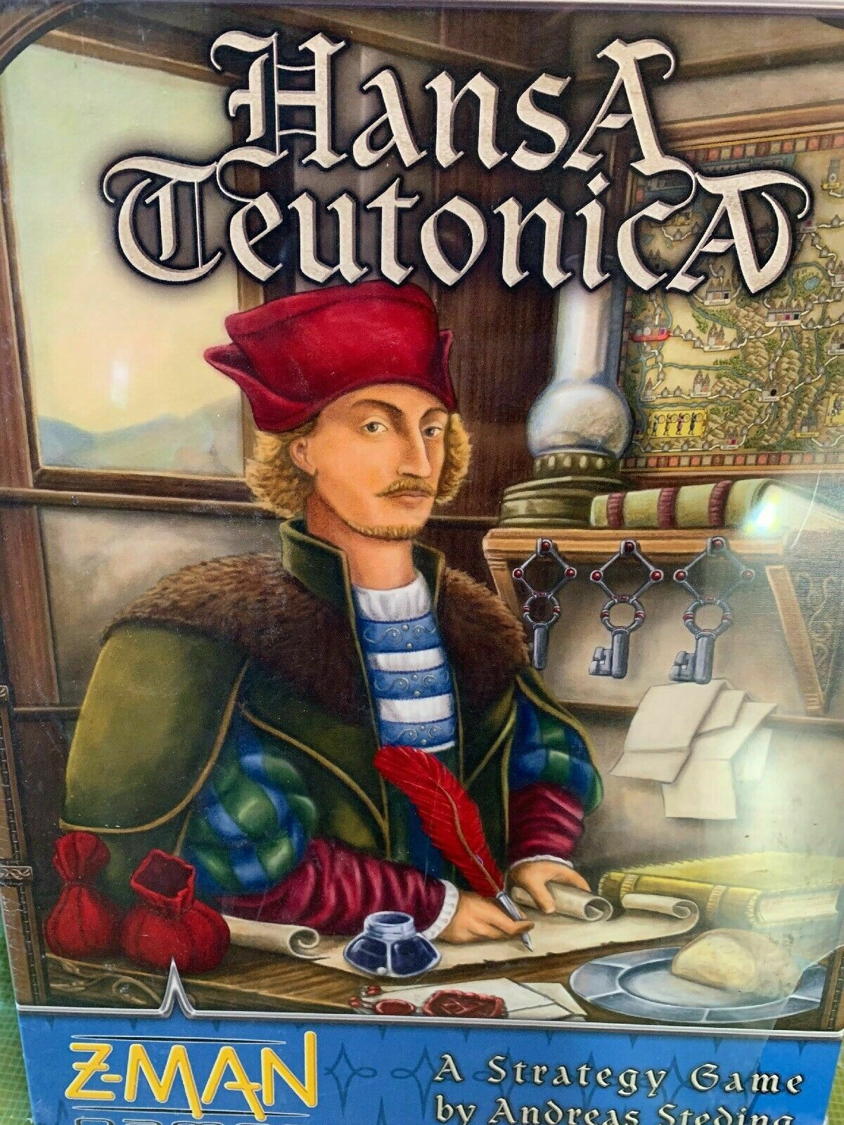 HansA Teutonica Board Game - NEW SEALED
