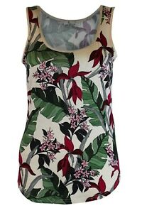 Ex-Oasis-Orchid-Floral-Silky-Feel-Vest-Top-Cami-Summer-Tee-XS-XL
