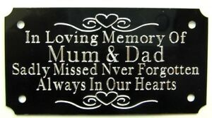 PERSONALISED-MEMORIAL-BENCH-PLAQUE-ENGRAVED-GRAVE-MARKER-SIGN-4-034-x-2-034