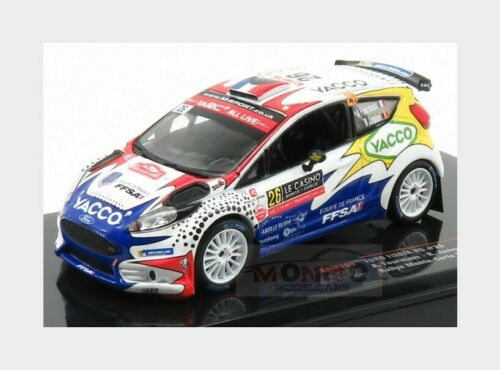 Ford Fiesta R5 #26 Rally Montecarlo 2019 A.Fourmaux R.Jamoul IXO 1:43 RAM703
