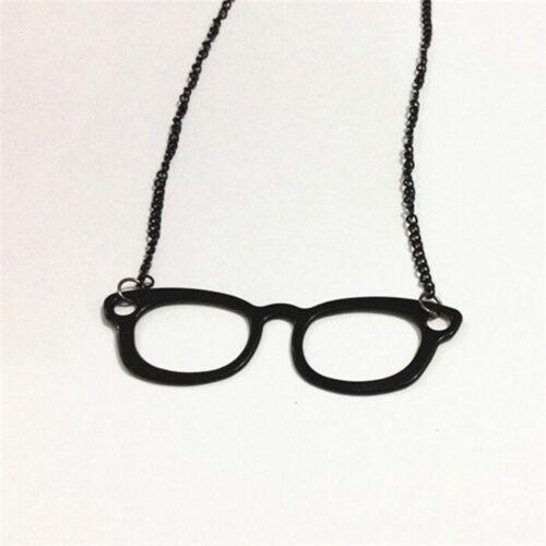 Frame Eyeglasses Choker Long Pendant Glasses Necklace Sweater Chain