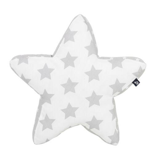 Alvi Kuschelkissen Stars silber 609-9
