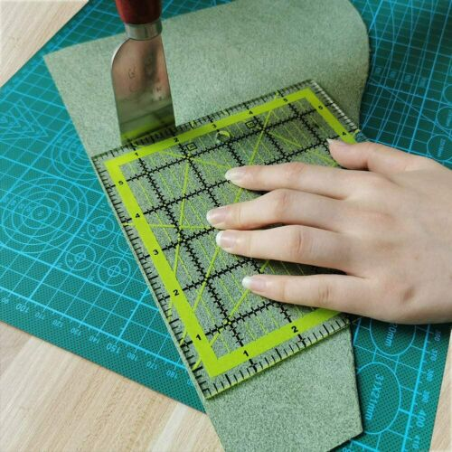 4 Size Square Quilting Sewing Patchwork Ruler Tailor Fabric Cutting Ruler Tool