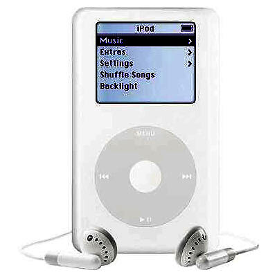 Apple Ipod Classic 4th Generation From Hp White 40 Gb For Sale Online Ebay