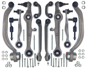 Front-Suspension-Full-Track-Control-Arm-Kit-Set-Ball-Joints-Audi-A4-00-09-Exeo
