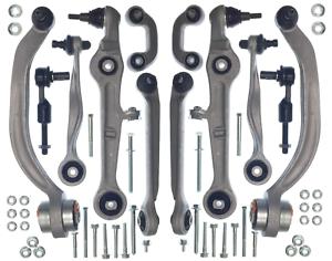 Suspension-Delantera-Brazo-De-Control-De-Pista-Completa-Kit-Set-las-articulaciones-de-bola-AUDI-A4